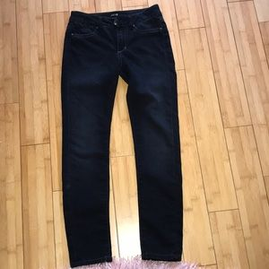 Navy blue jeans for TEENS